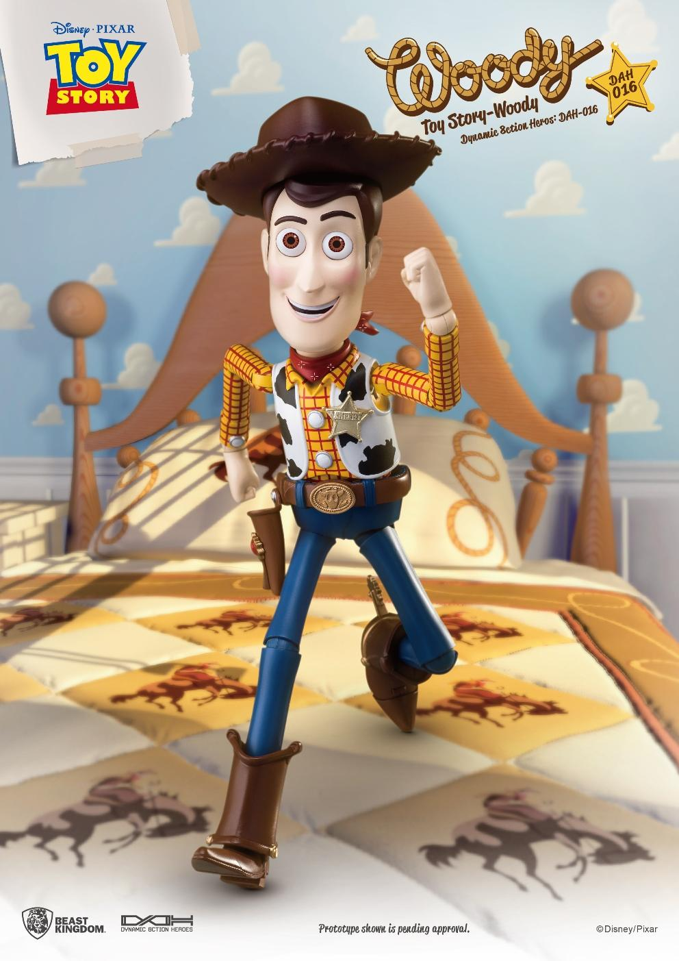 TOY STORY - Figurine Dynamic Action Heroes - Woody - 20cm