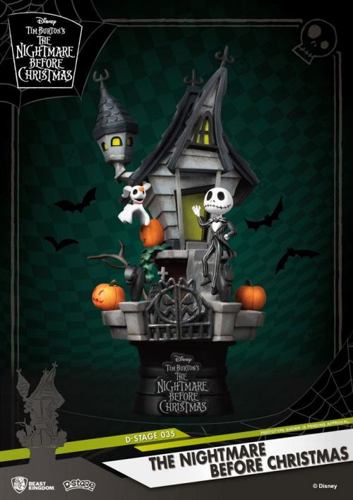 NBX - Jack's Haunted House Diorama - 15cm