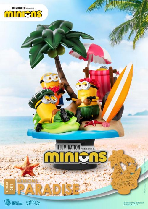 MINIONS - Paradise - Diorama D-Stage 15cm