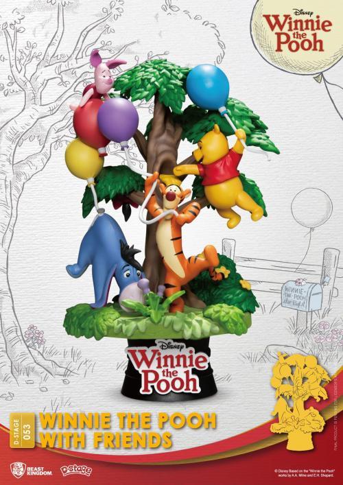 DISNEY - Winnie with Friends - Diorama D-Stage 15cm