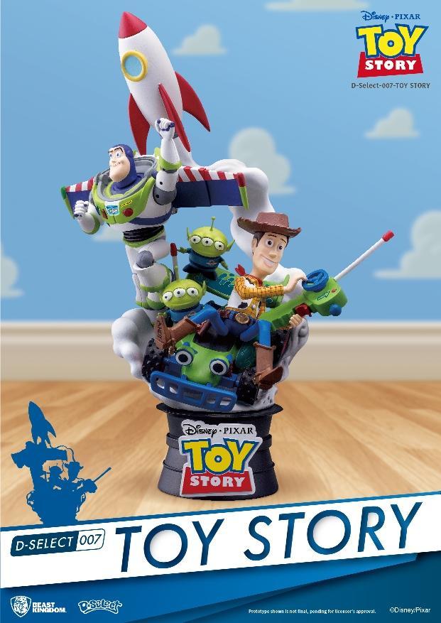 DISNEY - D-Select - Toy Story Diorama - 18cm