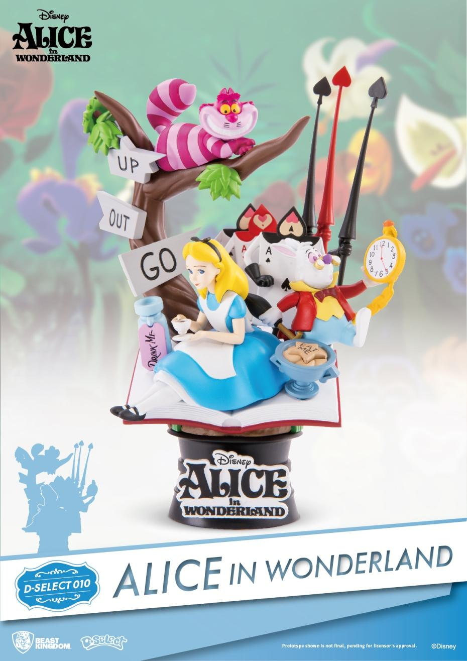 DISNEY - D-Select - Alice in Wonderland Diorama - 18cm