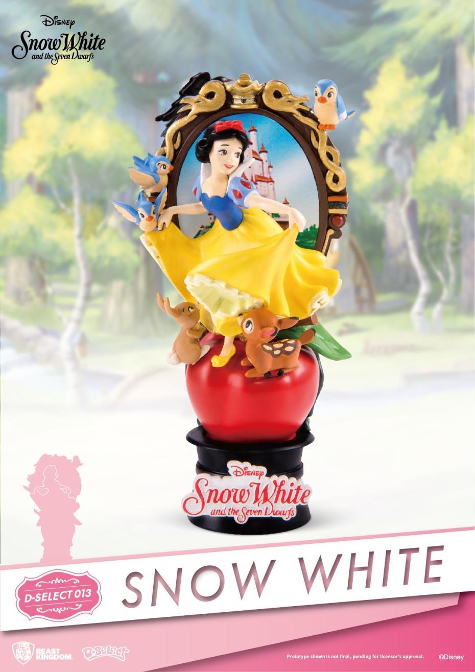 DISNEY - D-Select - Snow White Diorama - 18cm