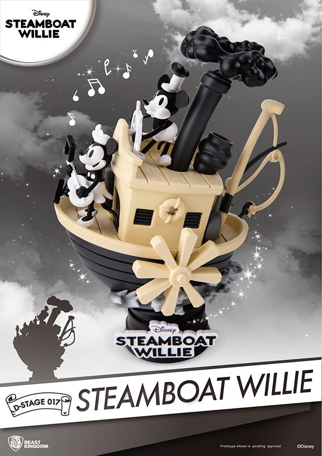 DISNEY - D-Stage - Mickey Steamboat Willie Diorama - 16cm