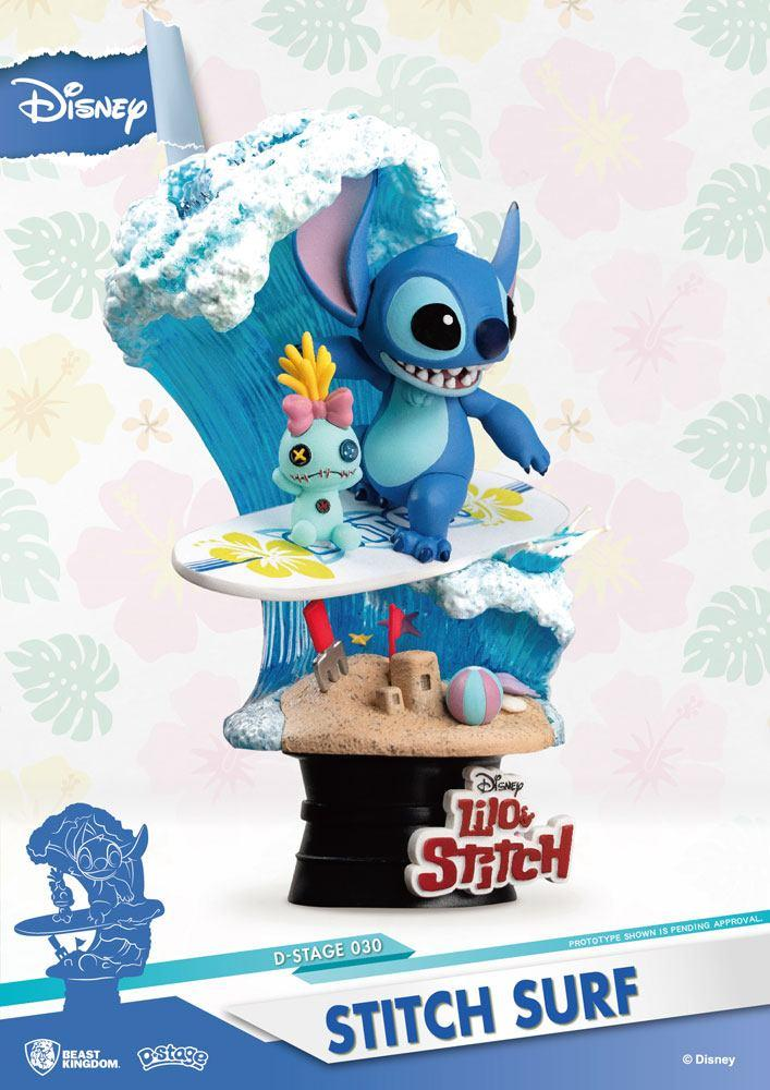 LILO & STITCH - D-Select - Stitch Surf - 15cm_3