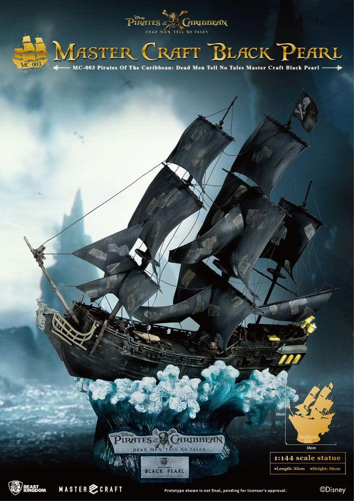 POTC DEAD MEN NO TALES - Master Craft Black Pearl  - 36cm