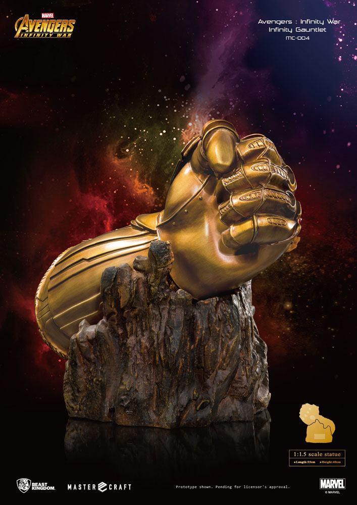AVENGERS INFINITY WAR - Master Craft Statue - Infinty Gauntlet - 40cm_2