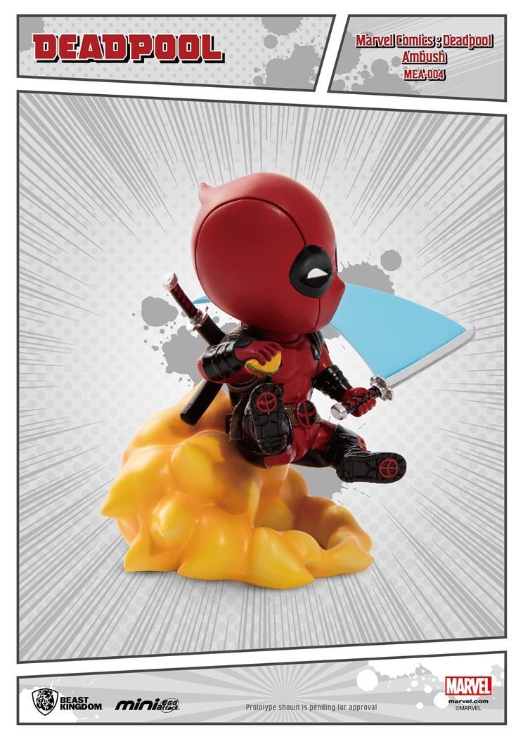 MARVEL - Comics - Figurine Mini Egg Attack - Deadpool Embush - 10cm_2