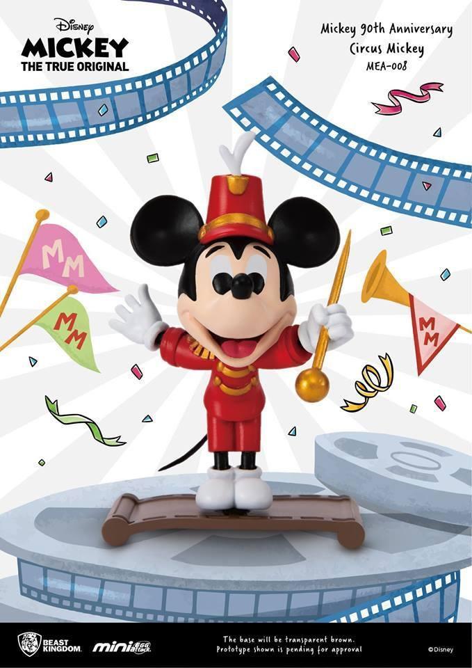 DISNEY MICKEY - Figurine Mini Egg Attack - Circus Mickey - 9cm