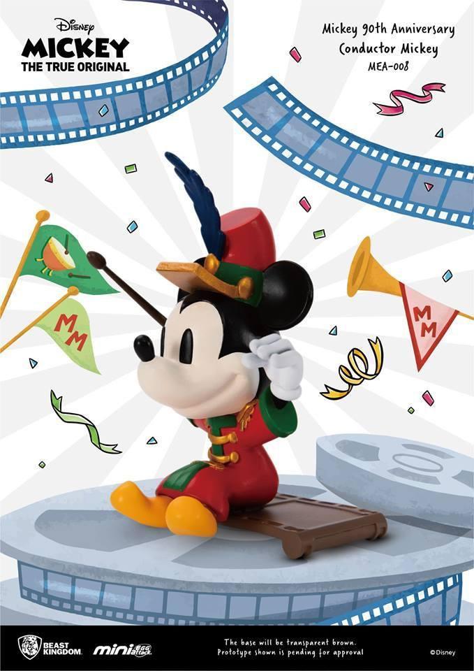 DISNEY MICKEY - Figurine Mini Egg Attack - Conductor Mickey - 9cm