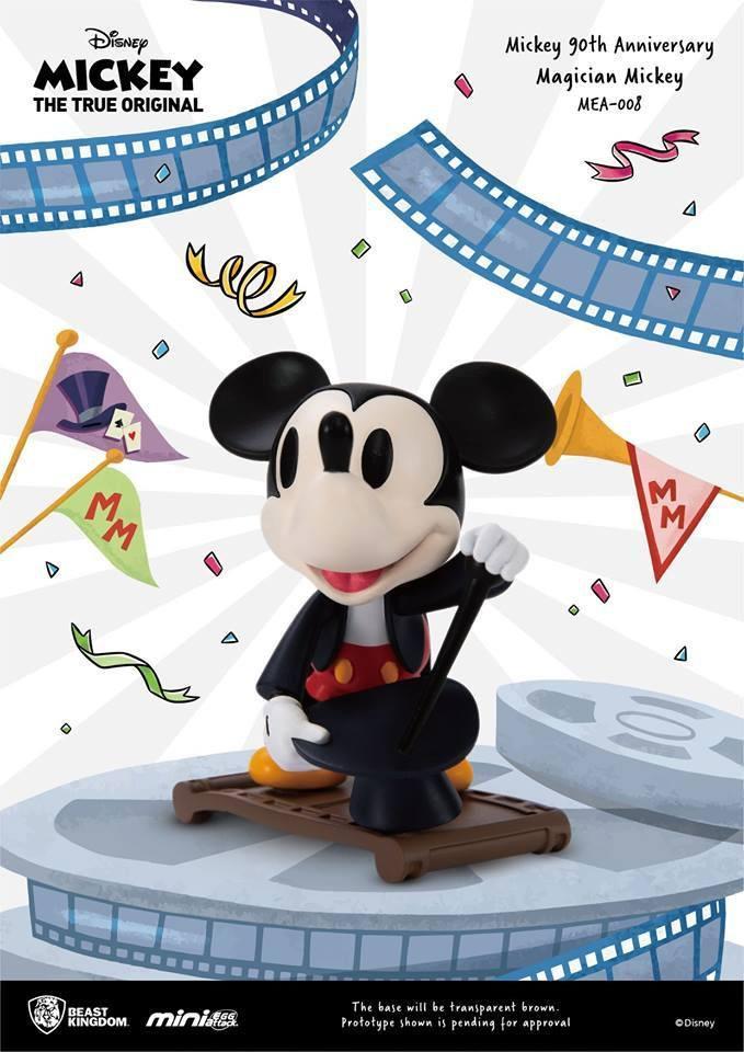DISNEY MICKEY - Figurine Mini Egg Attack - Magician Mickey - 9cm