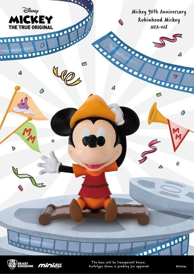 DISNEY MICKEY - Figurine Mini Egg Attack - Robinhood Mickey - 9cm