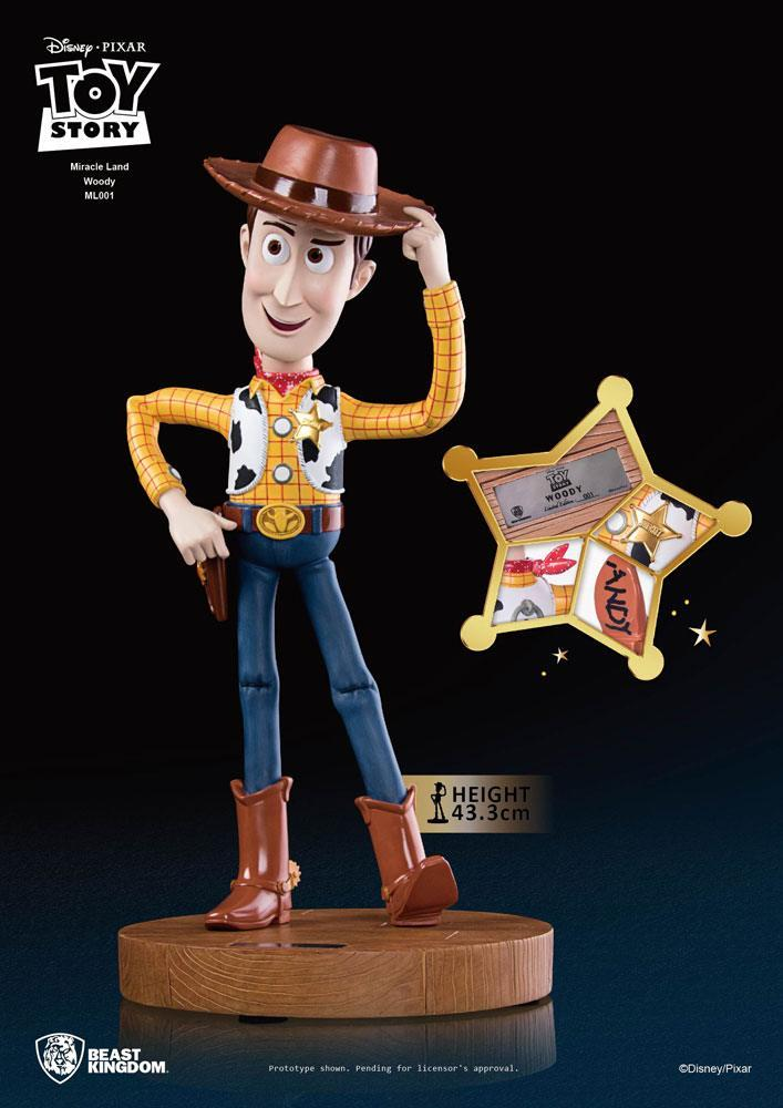 DISNEY - Toy Story 3 : Miracle Land Woody Statue - 43cm