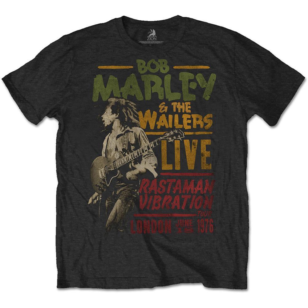 BOB MARLEY - T-Shirt RWC- Rastaman Vibration 1976 (L)