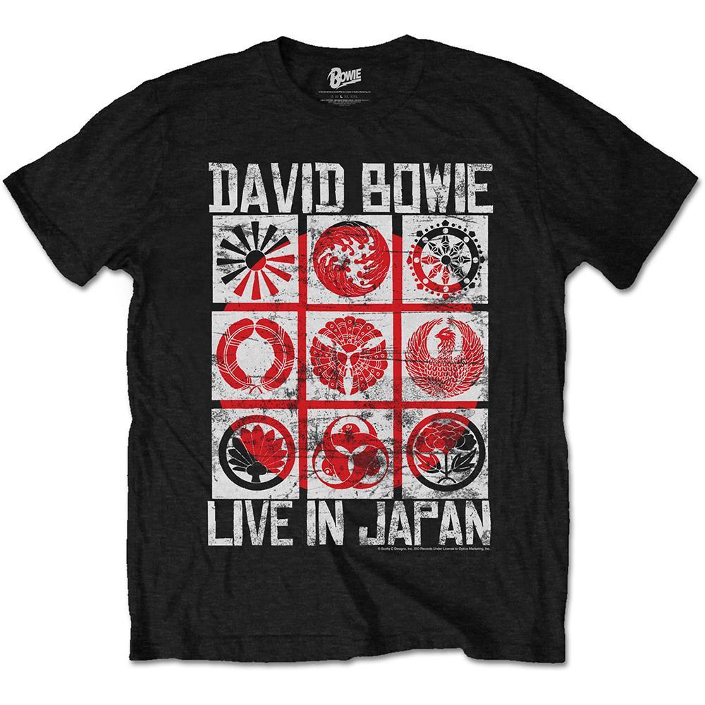 DAVID BOWIE - T-Shirt - Live in Japan (L)