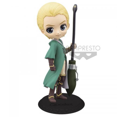 HARRY POTTER - Draco Malfoy Quidditch - Q Posket - Vers.B - 14cm