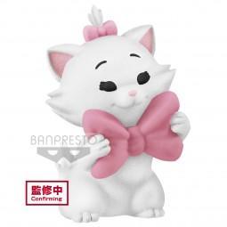 DISNEY - Marie - Q Posket Petit - Fluffy Puffy - 4cm