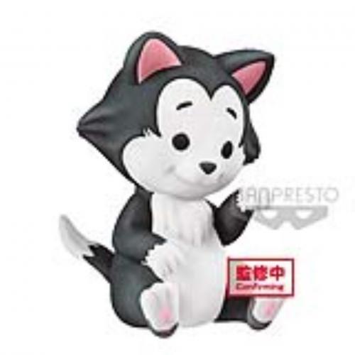 DISNEY - Figaro - Q Posket Petit - Fluffy Puffy - 4cm
