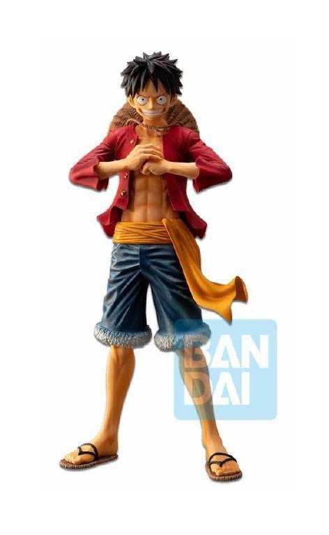 ONE PIECE - ICHIBANSHO - Figurine - Monkey - Luffy - 28cm