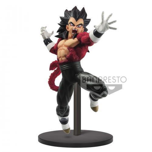 SUPER DRAGON BALL HEROES - Figurine SS 4 Vegeta : Xeno - 17cm