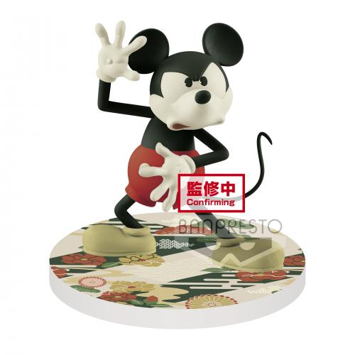 DISNEY - Mickey Mouse - Figurine Touch! Japonism 10cm Ver.B