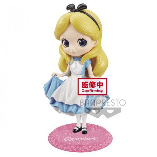 DISNEY - Alice - Figurine Q Posket Glitter Line 14cm