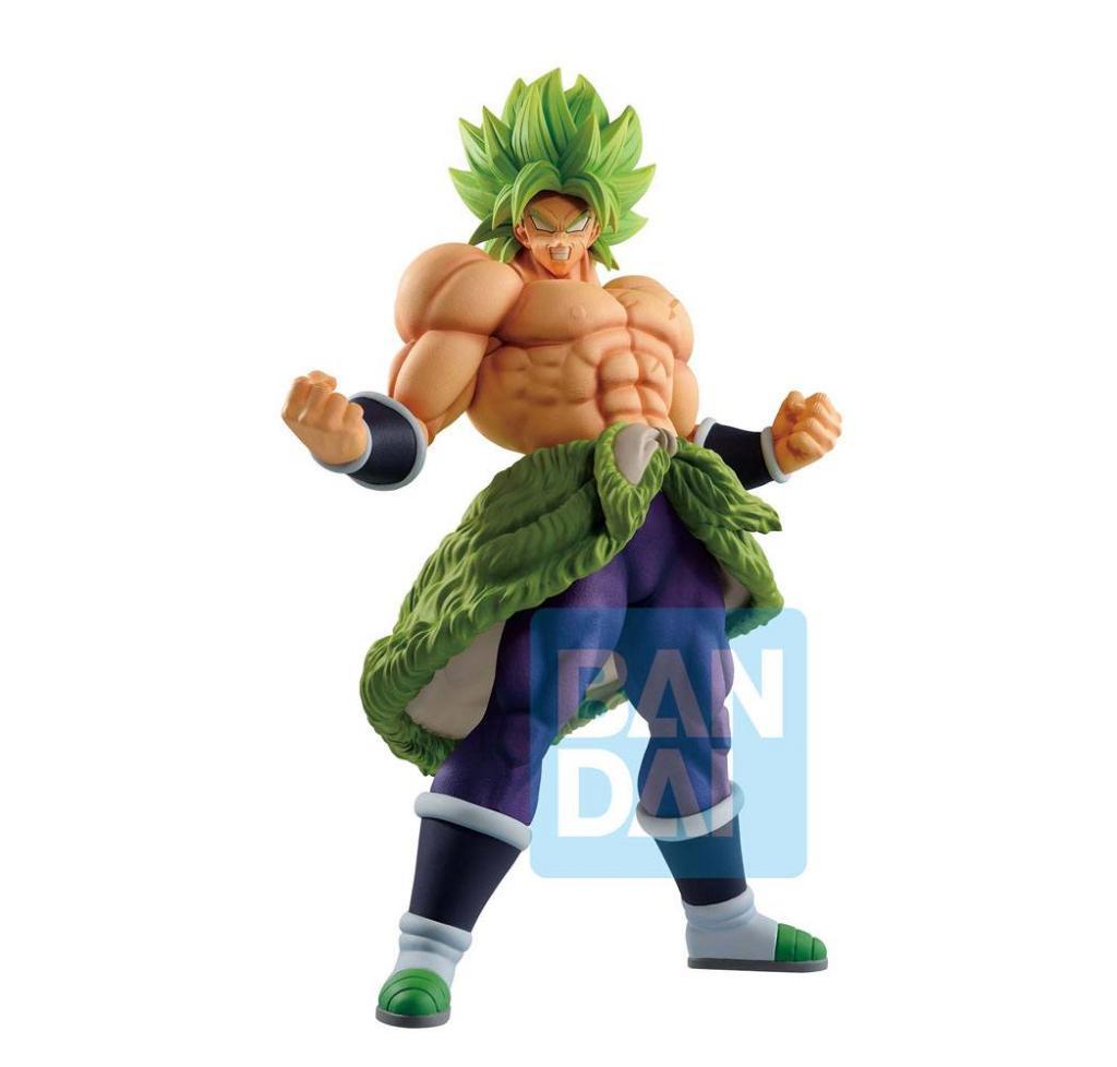 DRAGON BALL SUPER - SS Broly Full Power - Figurine Ichibansho 30cm_1