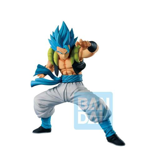 DRAGON BALL SUPER - God SS Gogeta - Figurine Ichibansho 20cm