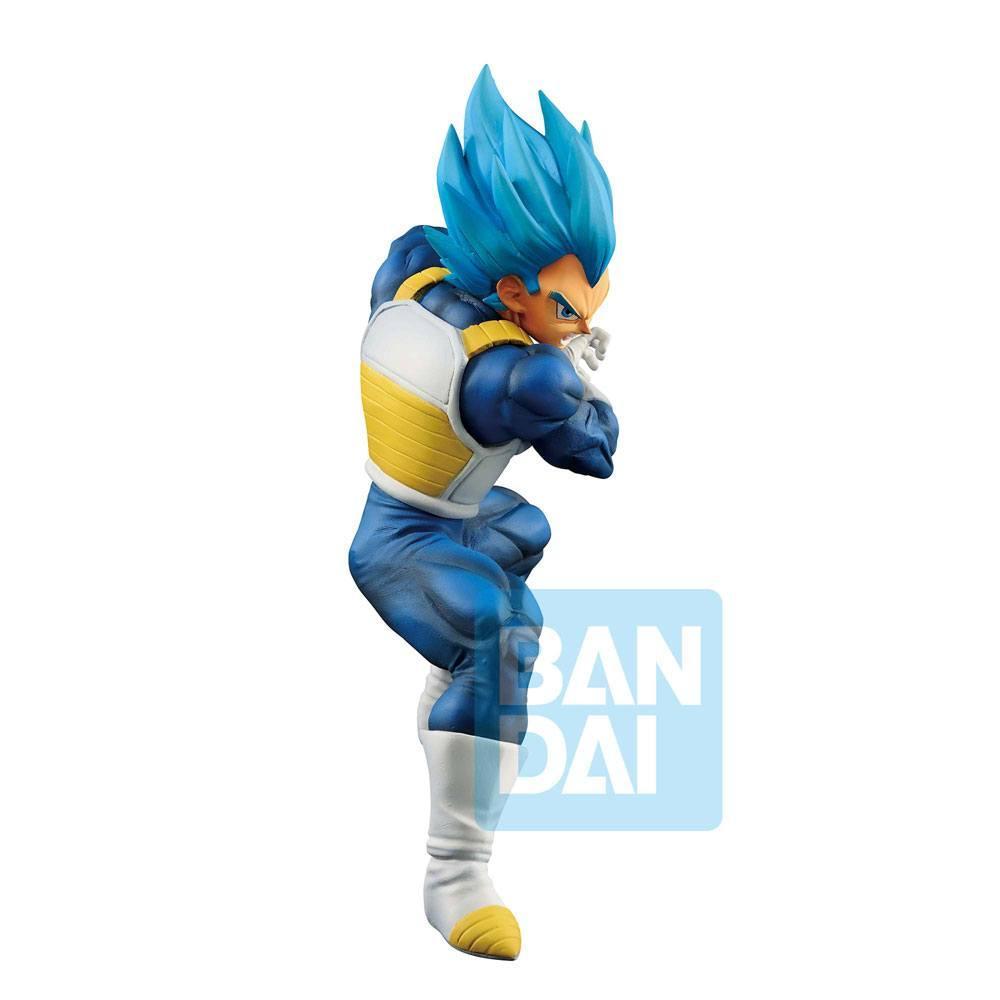 DRAGON BALL SUPER - God SS Evolved Vegeta - Figurine Ichibansho 18cm_3