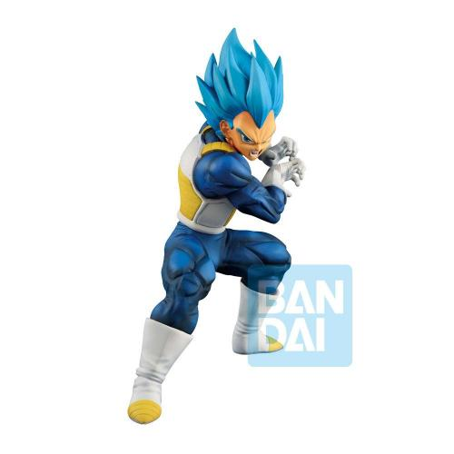 DRAGON BALL SUPER - God SS Evolved Vegeta - Figurine Ichibansho 18cm