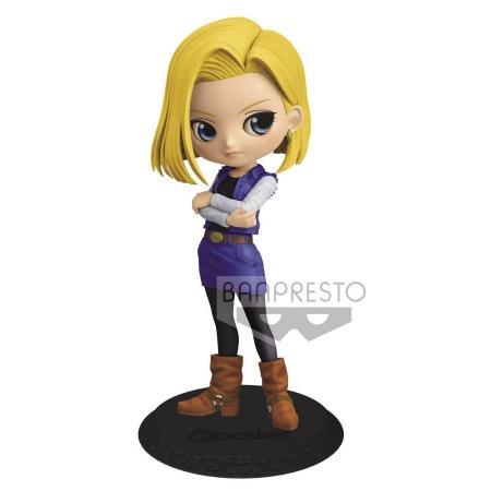 DRAGON BALL Z - Android 18 - Figurine Q Posket Ver.A 14cm