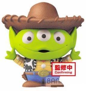 TOY STORY - Alien Woody Style - Figurine Fluffy Puffy Mine 4cm