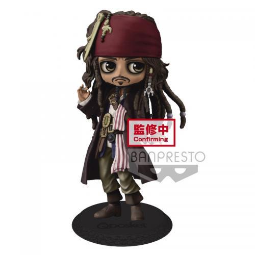 DISNEY - Jack Sparrow - Figurine Q Posket 14cm