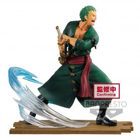 ONE PIECE - Zoro - Figurine Log File Selection Fight 14cm Vol.1