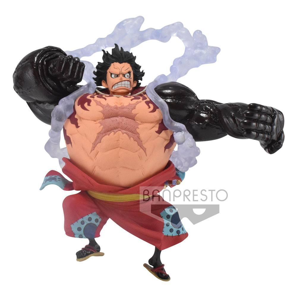 ONE PIECE - Monkey D. Luffy Gear4 - Figurine King of Artist 13cm_1