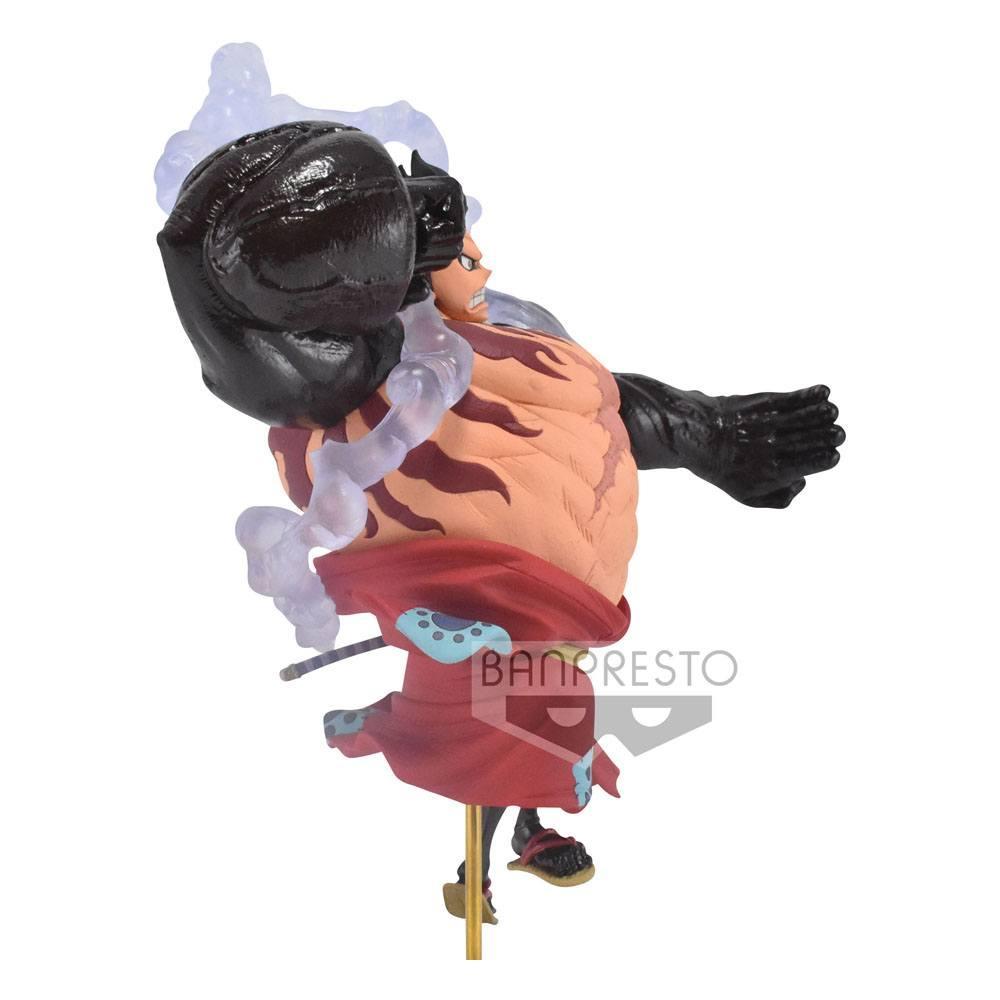 ONE PIECE - Monkey D. Luffy Gear4 - Figurine King of Artist 13cm_2