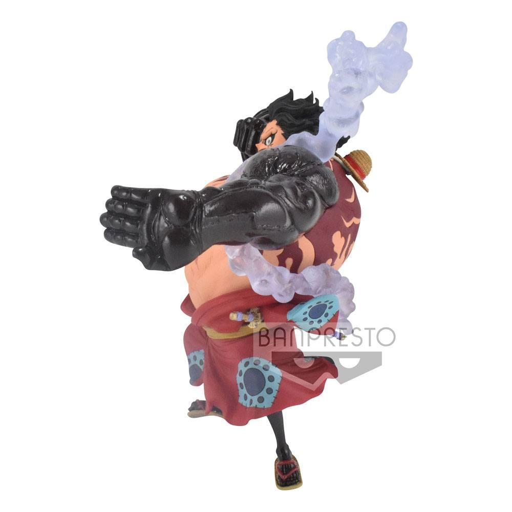 ONE PIECE - Monkey D. Luffy Gear4 - Figurine King of Artist 13cm_4