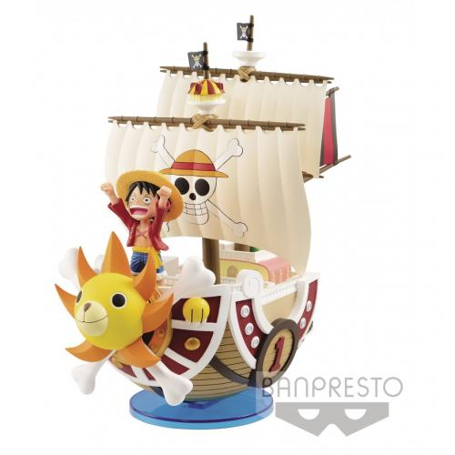 ONE PIECE - Thousand Sunny - Figurine Mega World Collectible 19cm *R
