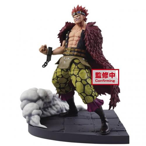 ONE PIECE - Eustass Kid - Figurine LOG File Selection 15cm