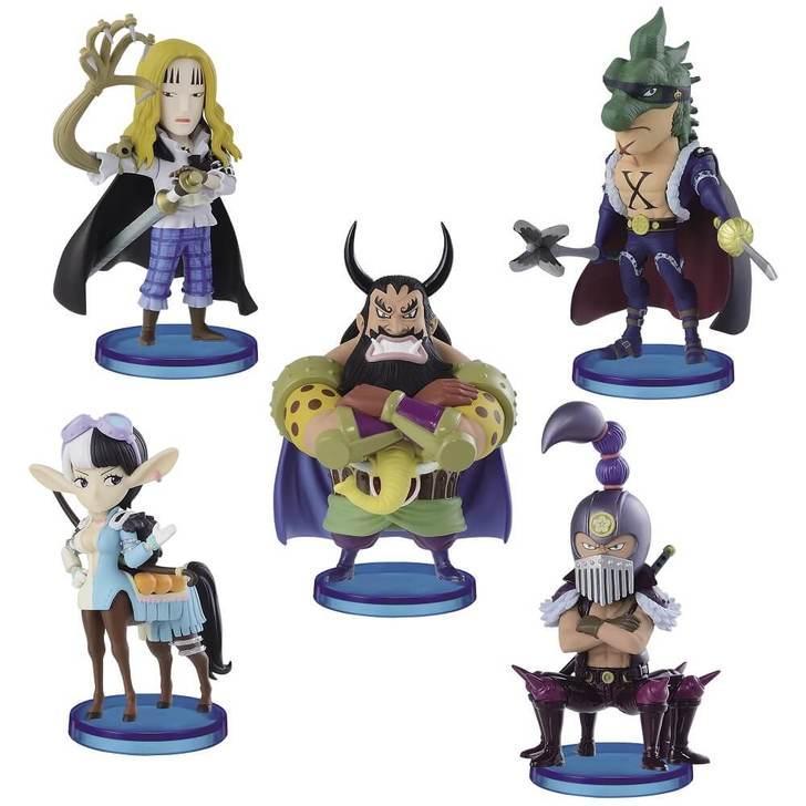 ONE PIECE - Figurine B - Figurine 7cm WCF Beasts Pirates 2_2