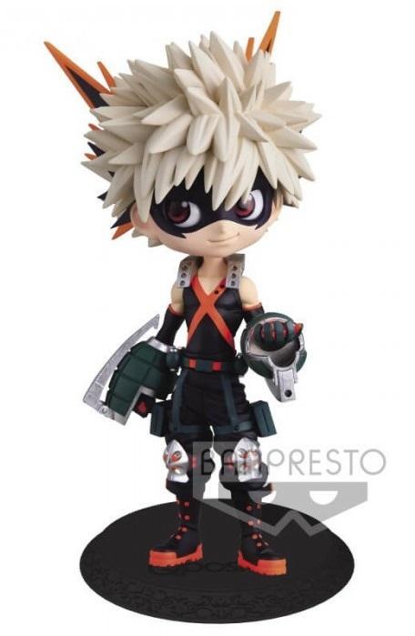 MY HERO ACADEMIA - Bakugo - Figurine Q Posket ver.A 14cm