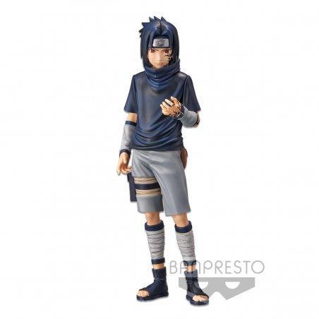 NARUTO - Uchiha Sasuke - Figurine Grandista Nero 24cm