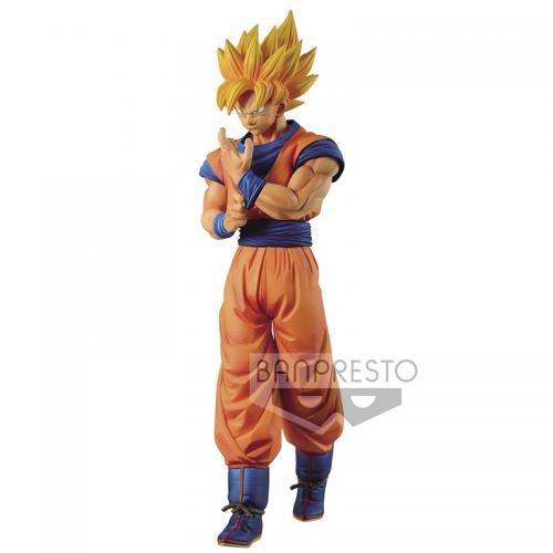 DRAGON BALL Z - SS Son Goku - Figurine Sold Edge Works 23cm