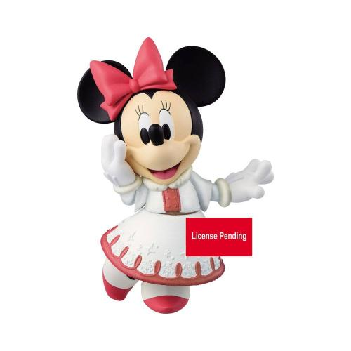 DISNEY - Minnie - Figurine Fluffy Puffy 10cm