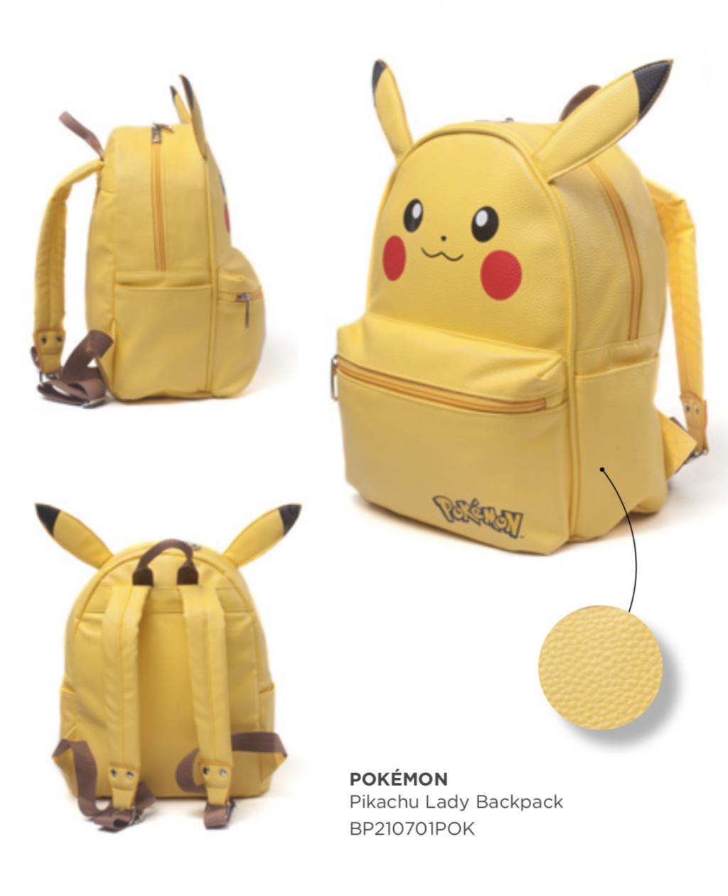 POKEMON - Lady Backpack - Pikachu_2