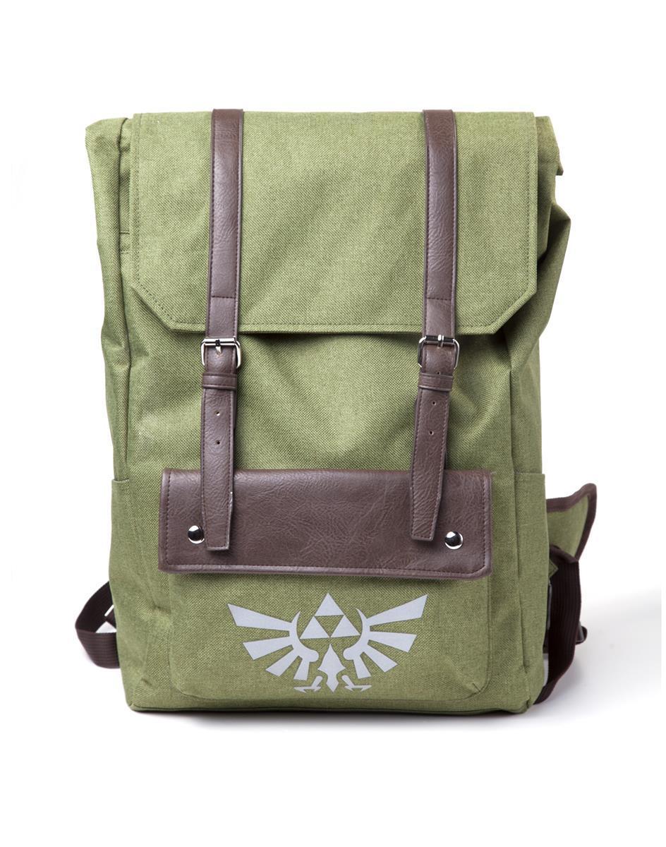 ZELDA - Link Hooded Canvas Backpack