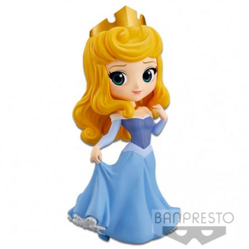 DISNEY - Aurore Version Blue Dress - Q Posket - 14cm