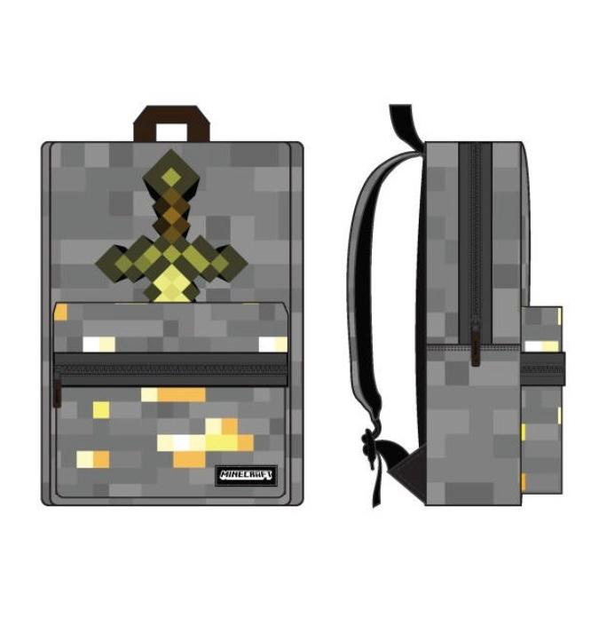 MINECRAFT - Box Backpack with Sword