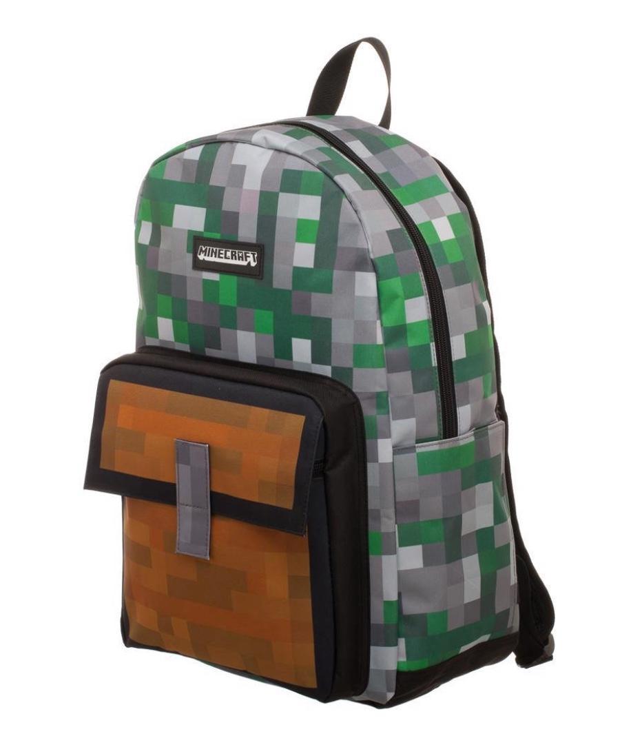MINECRAFT - Square Pocket Backpack Full Sublimation