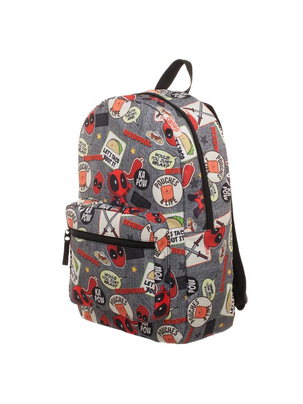 DEADPOOL - Patches Backpack